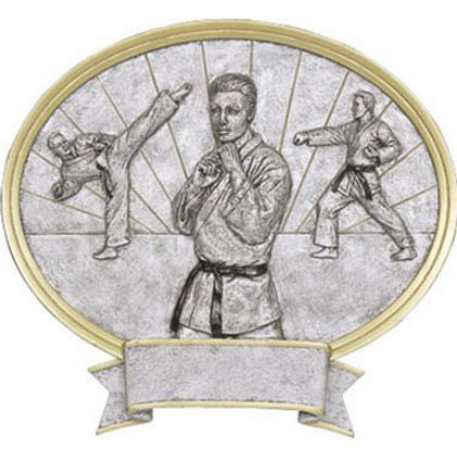 Karate Male Legend Plaque Awards 54623GS