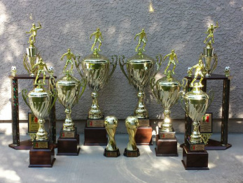 Williams Soccer League Tournament Trophies