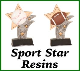 Sports Star Resin Awards