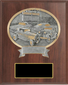 Sports Legend Elegant Cherry Plaque Award