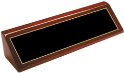 PNA28 Rosewood Piano Finish Wedge