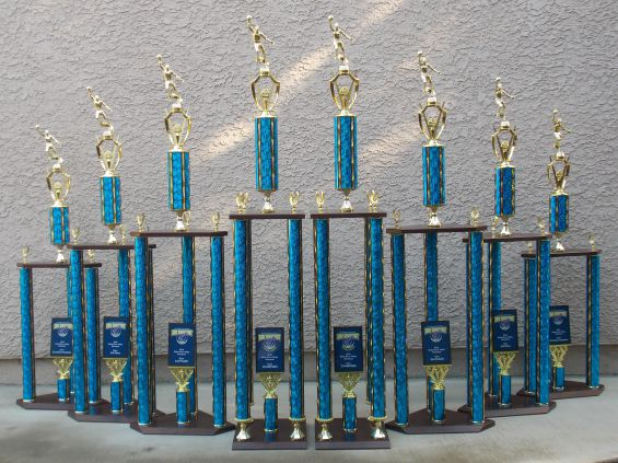 DRV shootout 2014 Tournament Trophies