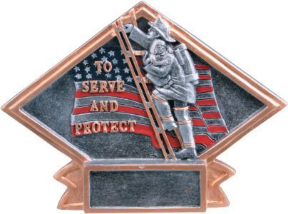 DPS81 Firemen Diamond Plate
