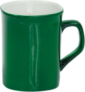 LMG44 Green Round Corner Lesarable Ceramic Mug