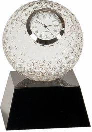 CRY6101L Golf Crystal Clock