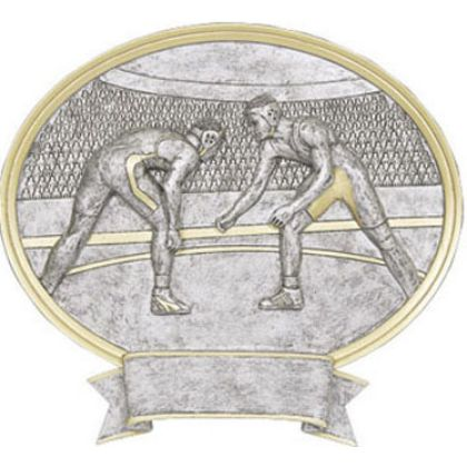 Wrestling Legend Award Plaque