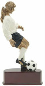 Action Color Female Soccer 60402GS