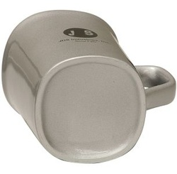 Round Corner Lesarable Ceramic Mug Bottom View