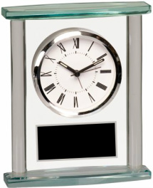 GCK003 Glass Square Clock with Top