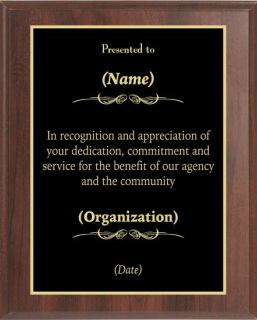 Recognition Award #3