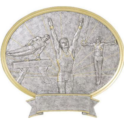 Gymnastic Male Legend Plaque Awards 54632GS