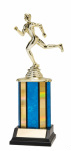 Track Blue Trophy Small