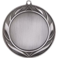 HR930S Wreath Silver Color Insert Medal