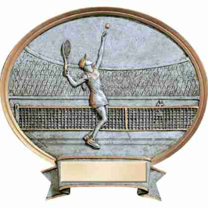 Tennis Female Legend Award Plaque