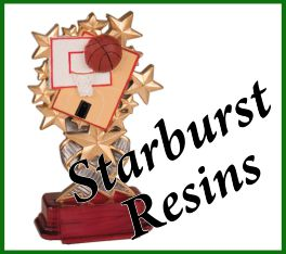 Starburst Resin Awards