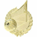Volleyball Gold Wreath Sport Plaque 1054-G