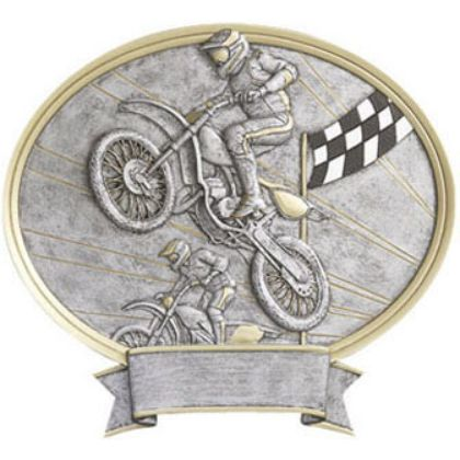 Motocross  Legend Plaque Awards 54358GS