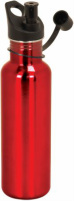 LWB Red Laserable Stainless Steel Water Bottle