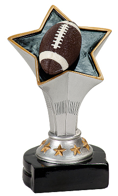 Rising Star Football Resin Figure