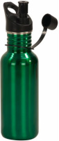 LWB Green Laserable Stainless Steel Water Bottle