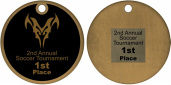 3D Medal Back Personalizing Sample