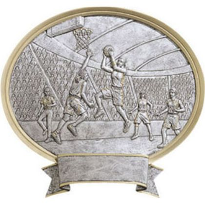 Basketball Female Legend Plaque Award 54507GS