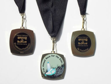 Medal for 7th Annual Race for the Kids 2014