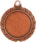 Wreath Insert Medal Bronze HR908B