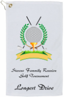 Tournament Golf Towel  Custom Printed