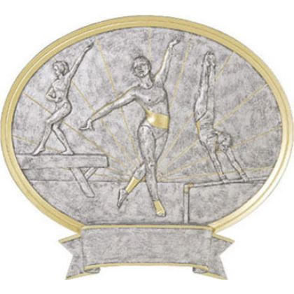 Gymnastic Female Legend Plaque Awards 54632GS