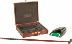 GLF01 Rosewood Finish Executive Golf Set
