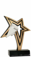 Cheerleading Infinity Star Resin NFR204