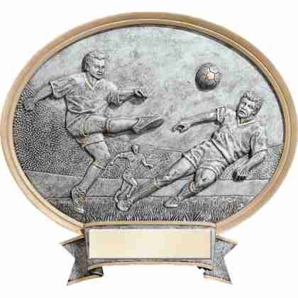 Soccer Male Plaque