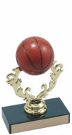Small Color Basketball Trophy