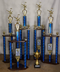 Raider Cup Classic Tournament Trophies