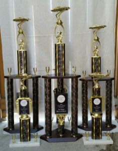 Country Oaks Baptist Church 2015 Car Show Trophies