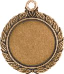 Wreath Insert Medal Gold HR908G