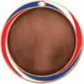 Red White Blue 036AB Bronze Medal