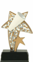 Color Sport Star Cheer Resin Award 91506GS 6