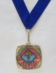 Full color award Medal