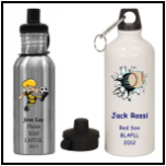 Basketball Full Color Printed Water Bottle