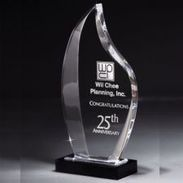 Nile Flame Acrylic Award - DT236