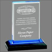 Beveled Impress Acrylic Award