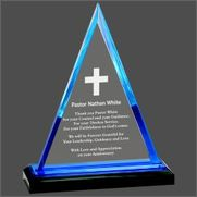 Triangle Impress Acrylic Award iMP801