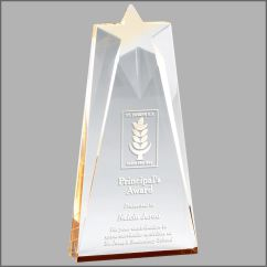 Reflective Star Acrylic Award